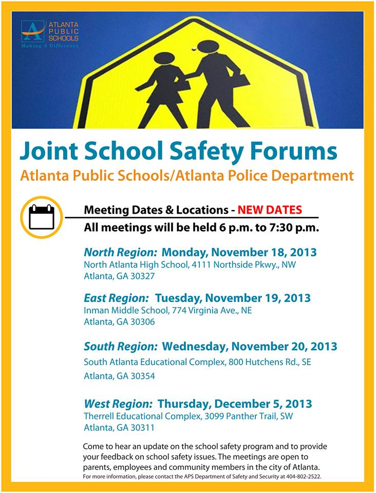 Joint School Safety Forums