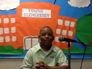 Student Spotlight 2014_Colin Cofield_Towns Elementary