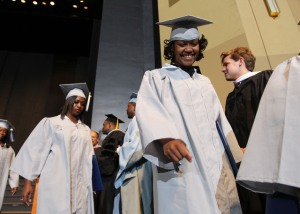 Crim High School graduates often overcome tremendous odds on their quest for a high school diploma.