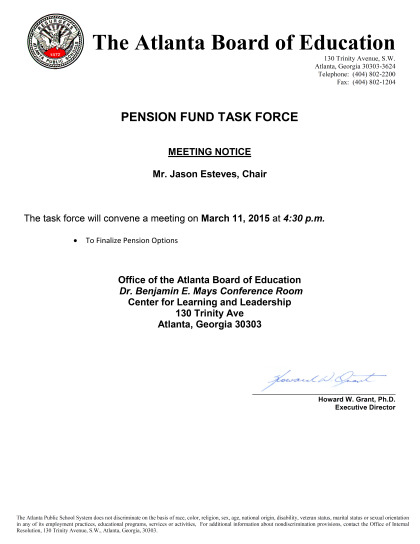 Pension Fund Task Force 03112015