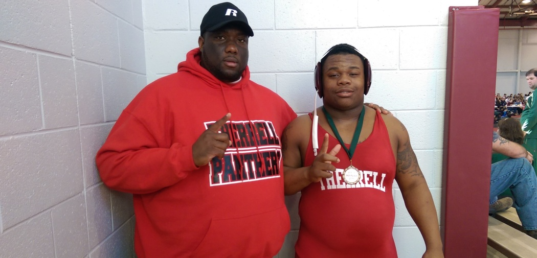 Coach Brian Ashley and Dexter Brown