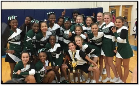 Inman Middle School won the middle school Class AA title in the competition.