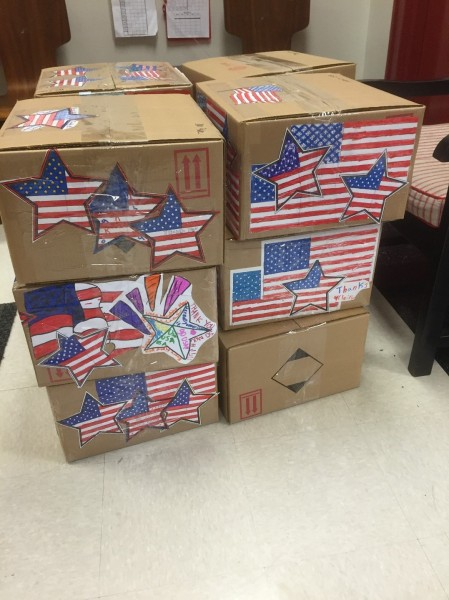 Morris Brandon Vets Day candy in boxes (11-3-15)