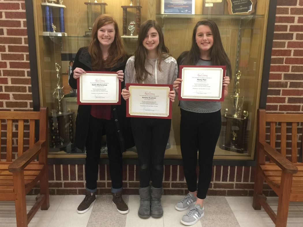 Inman MS Video Contest Winners
