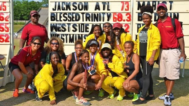 MHJ girls win 2015 AAA track title
