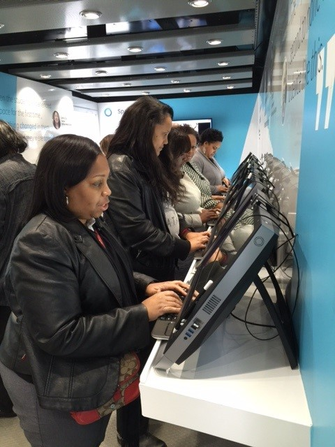 ZSpace Technology Mobile Lab at South Atlanta HS (1)
