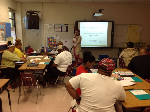 APTT at Beecher Hills ES (Parents in class 1)