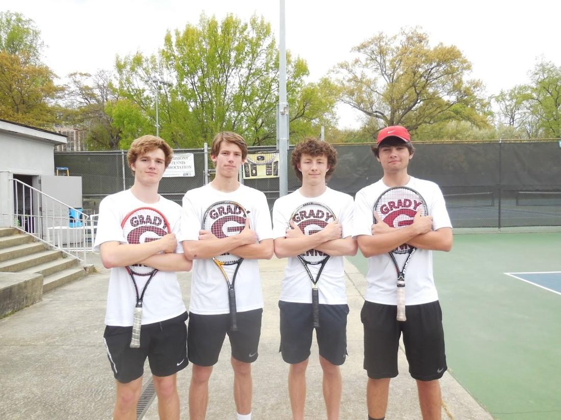 Grady boys tennis 2016