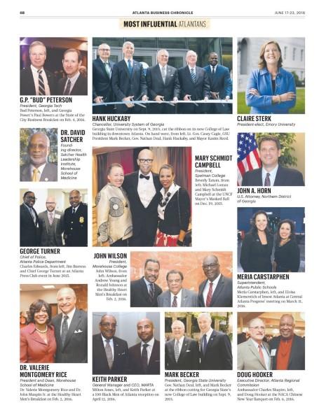 MJC on ABC 100 Most Influential Atlantans list (2)