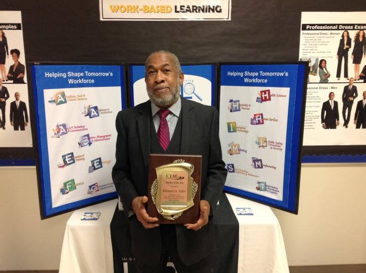 Richard Elder_CTAE Teacher of the Year