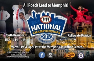 2017 Steppers National Championship flyer - Mary Lin ES (Memphis)