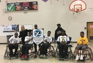 Atlanta Wolfpack - 2017 Wheelchair JV State Champs