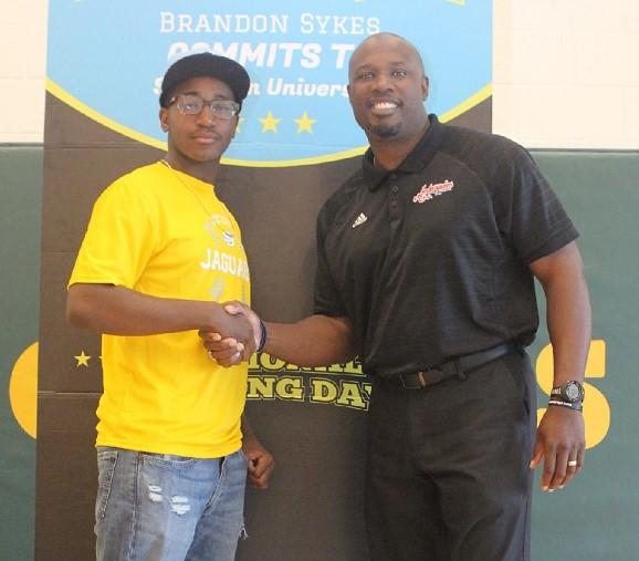 Brandon Sykes of Drew Charter and CJ Stewart of L.E.A.D.
