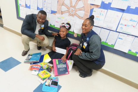Walmart Classroom Surprise at Slater ES 017