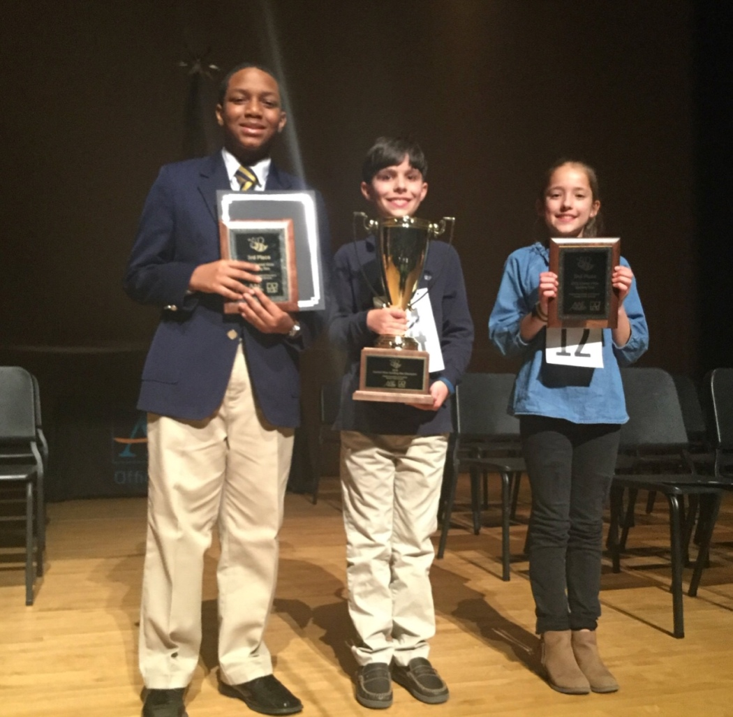 2018 Spelling Bee Champions