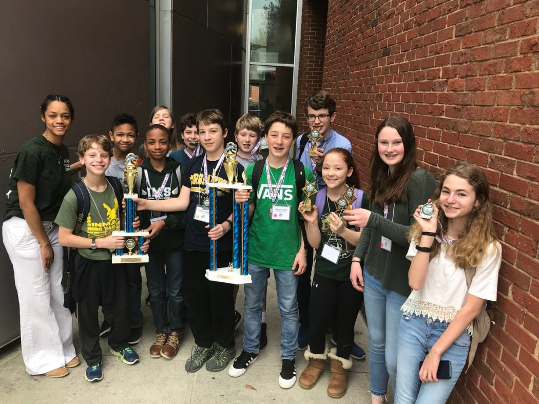 2018 Inman Middle School Math Champs
