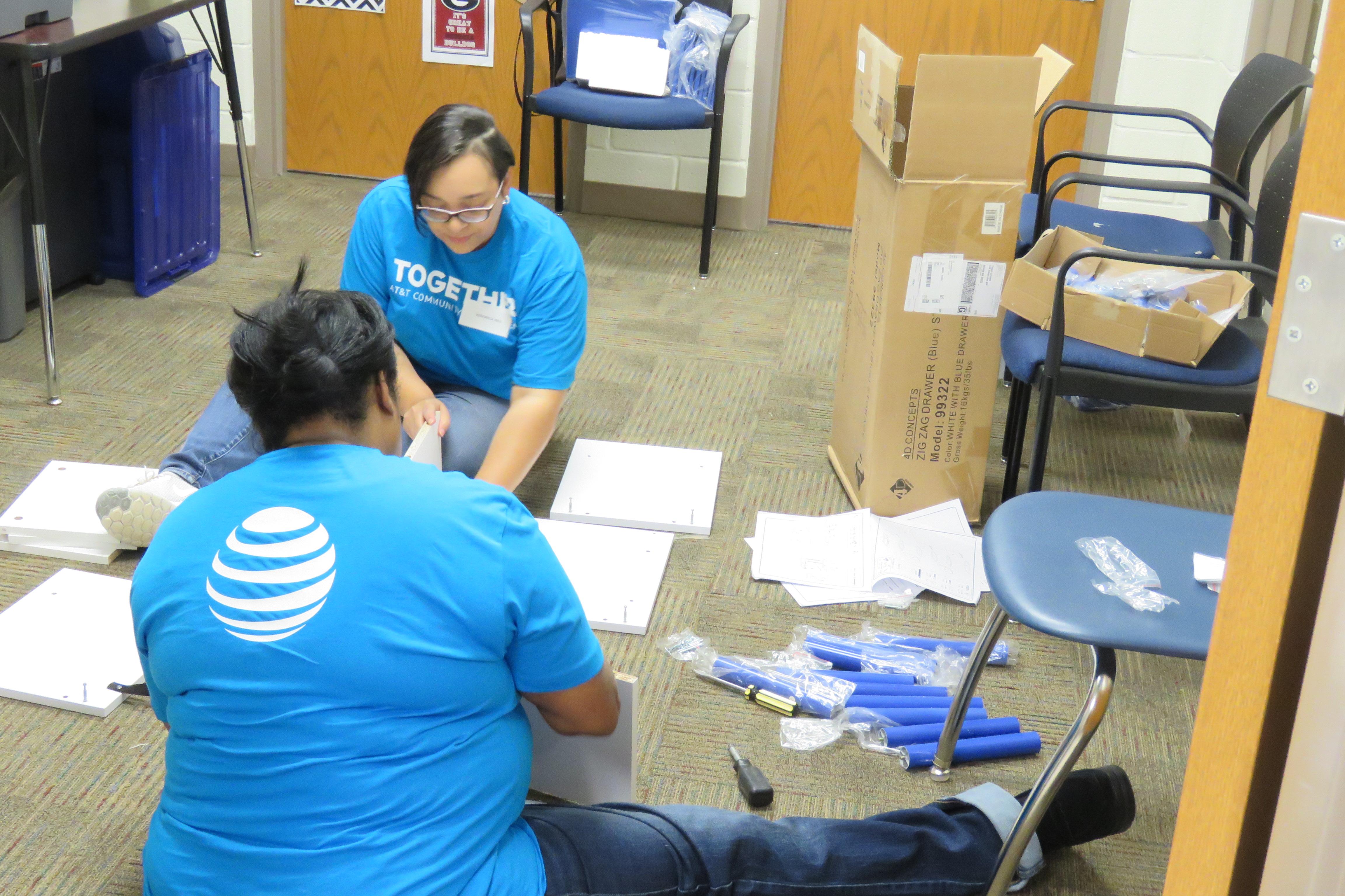 ATu0026T Volunteers