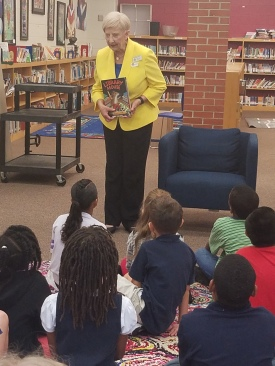 Ga. First Lady Sandra Deal Reads to Bolton Academy 3rd Graders