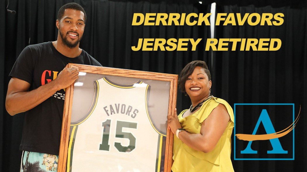 new arrival c0789 0d63f NBA Star Returns Home, Retires Jersey at Crawford Long ...