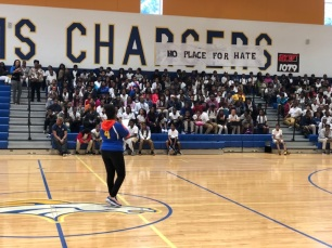 "Ralph J. Bunche Middle School ""No Place for Hate"" rally"