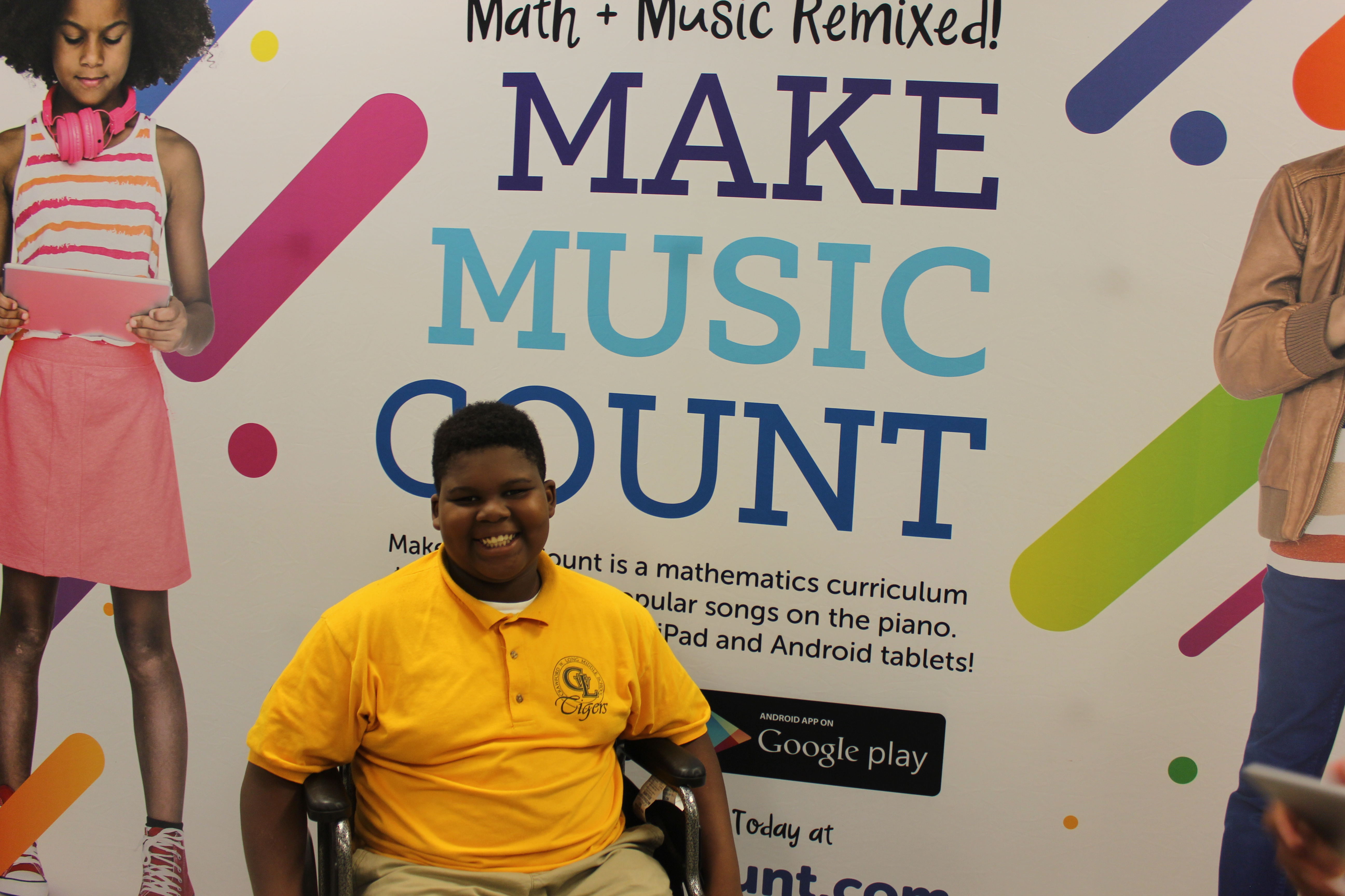 Make Music Count App Launches at C W  Long Middle School – Talk Up APS