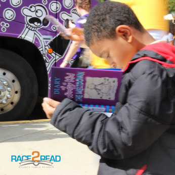 """The """"Wimpy Kid"""" Gets APS Race2Read Rolling"""
