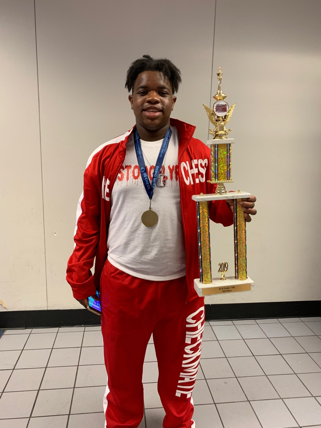 Price Middle School Student Wins Fifth Place in National Chess