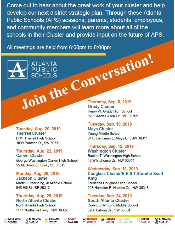 Talk Up APS Homepage